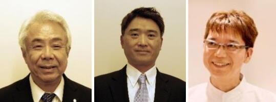 田中昌博先生・鳥井克典先生・先田寛志先生 顔写真